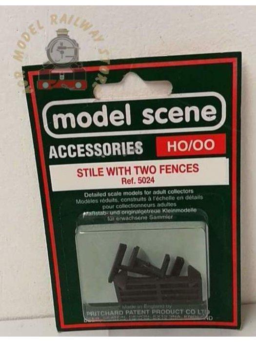Modelscene 5024 Stile with 2 Fences